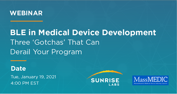 BLE in Medical Device Development